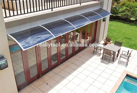 Used Porch Awnings Door Canopy Solid Roof Front Back Outdoor Rain Awning