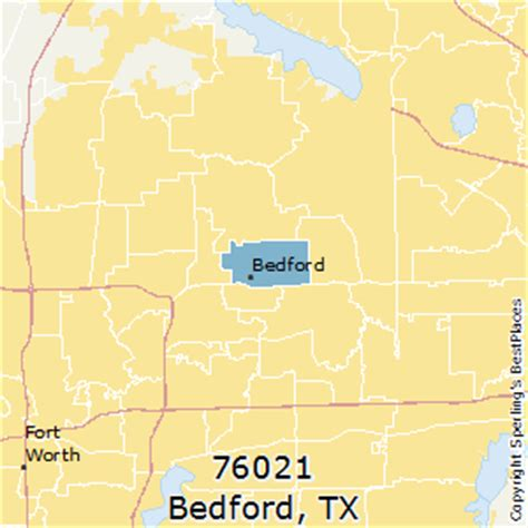 bedford texas map best places to live in bedford zip 76021 texas