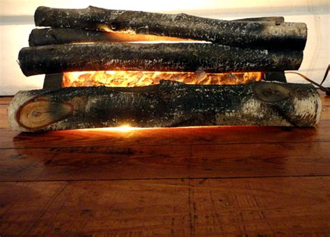 Fireplace Artificial Logs by Vintage Fireplace Logs Place Insert Faux