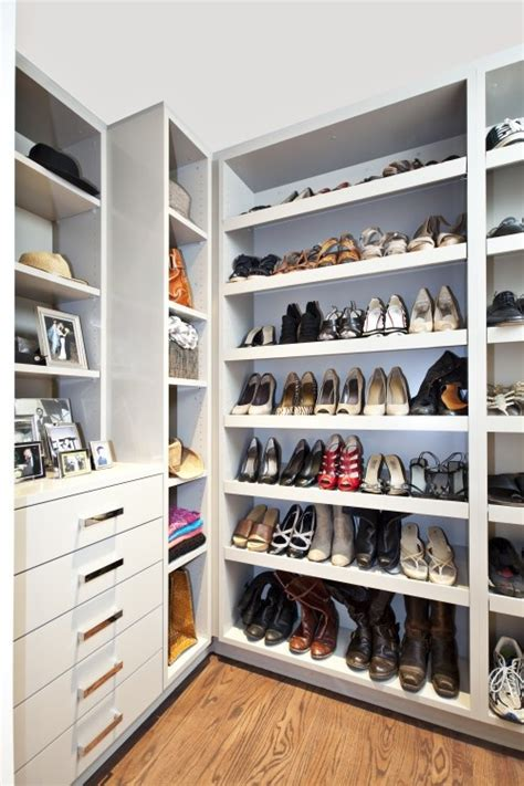 Shoe Closet With Doors Walk In Closet With Paneled Bi Fold Wardrobe Closet Doors Transitional 155 Best Walk In Closet Organized Closet Images On Pinterest Walk In Wardrobe Design