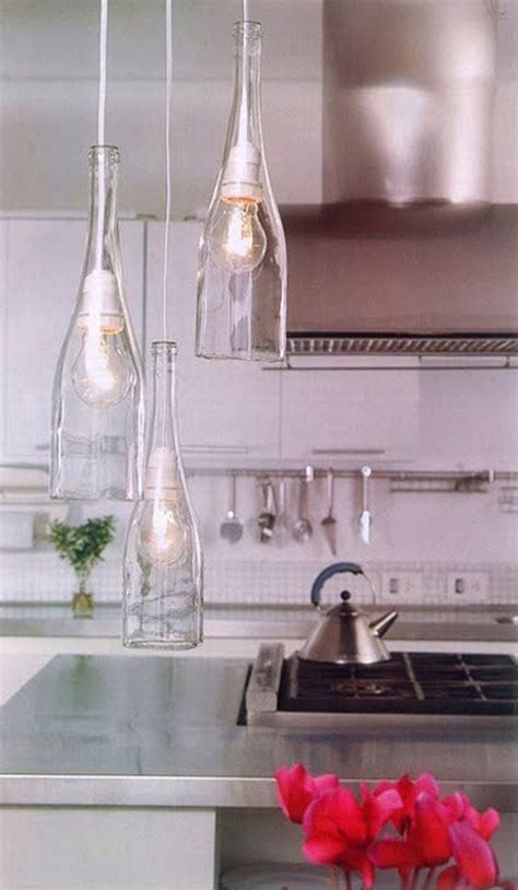 diy kitchen lighting ideas 20 creative diy wine bottle ideas home design and interior