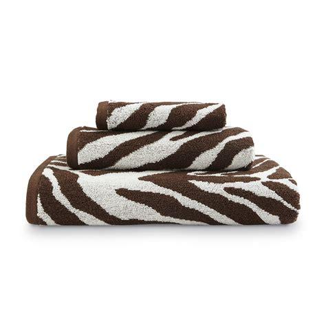 zebra pattern towels grand resort zebra jacquard bath towel hand towel or