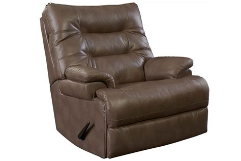 white recliner rocker velor brown rocker recliner at gardner white