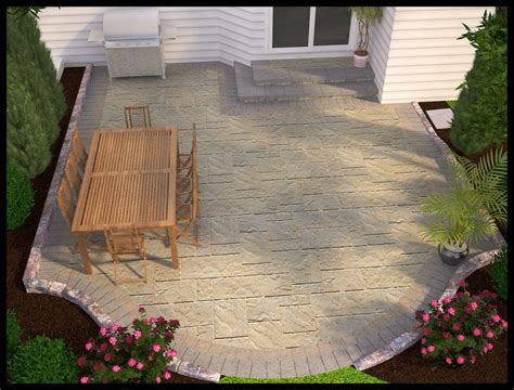 Patio And Backyard Designs Simple Patio Design Lighting Furniture Design