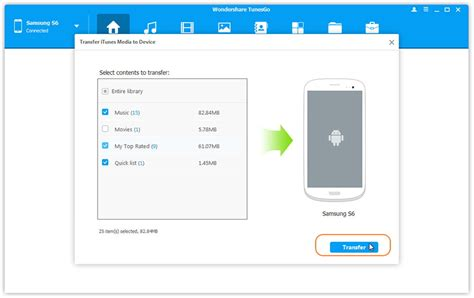 transfer itunes to android itunes to android transfer itunes to android phone and tablet