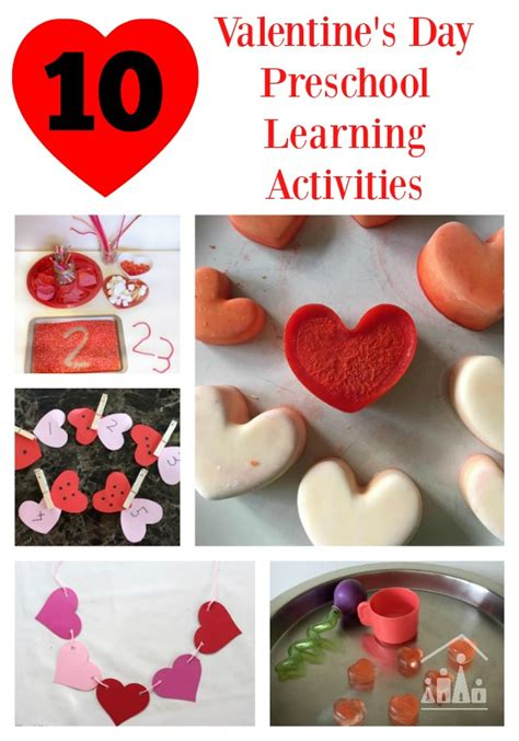 valentines day kindergarten 10 valentines day learning activities for preschoolers