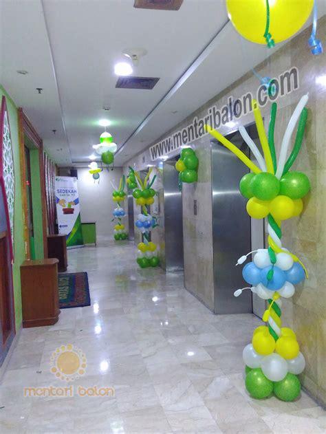 Harga Balon Dekorasi by Balon Dekorasi Kantor Bpjs Mentari Balon Pusat Jual