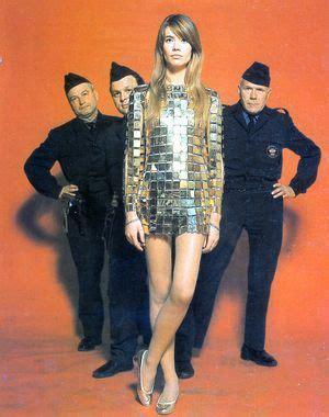 francoise hardy gold dress fran 231 oise hardy in paco rabanne fran 231 oise hardy