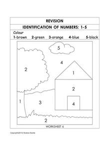 number recognition worksheets amp activities hubpages