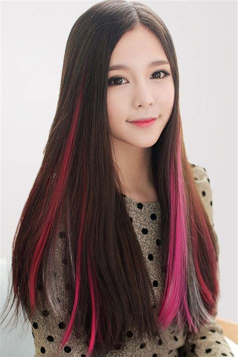 color hair extensions fashion color hair extension oasap