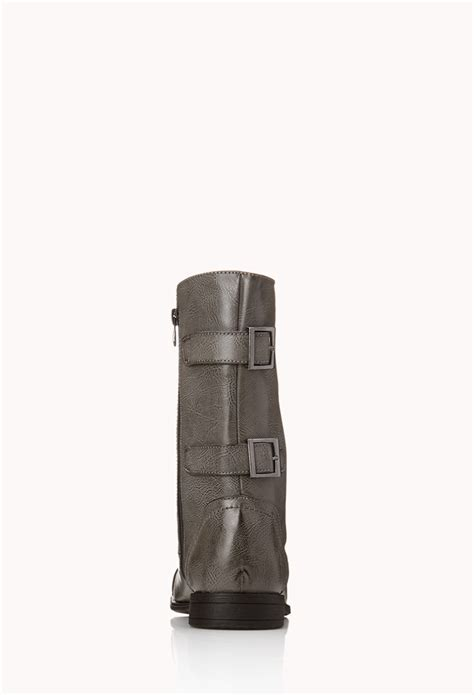 Waterridge Kitchen Faucet by Mens Combat Boots Forever 21 28 Images Forever 21 Buckled Combat Boots In Gray For Lyst