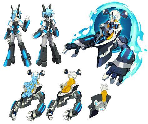 merak gunvolt merak concepts from azure striker gunvolt characters