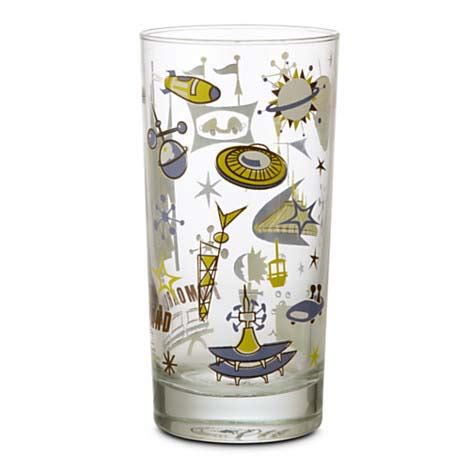 your wdw store disney glass tumbler magic kingdom map