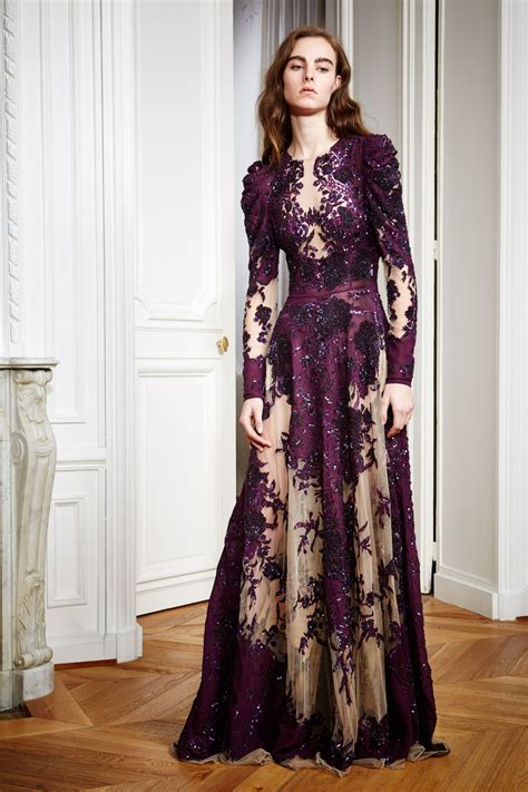26 Lingeri Now Purple zuhair murad pre fall 2016 nowfashion