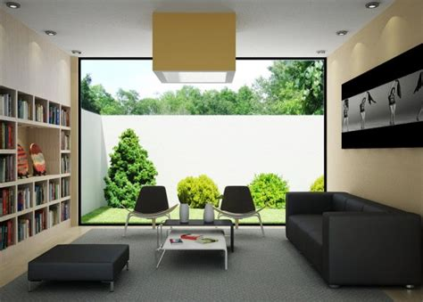 Living Room With A Garden Application Green Living Room Design View Garden Luxury