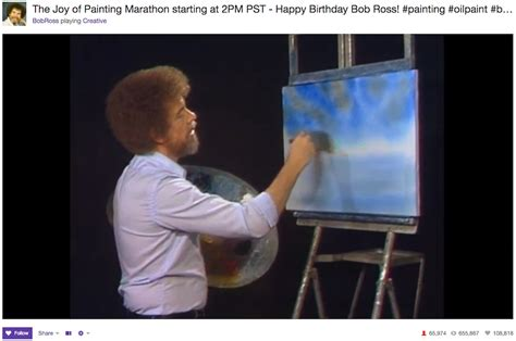 bob ross painting twitch twitch will a season of bob ross quot of