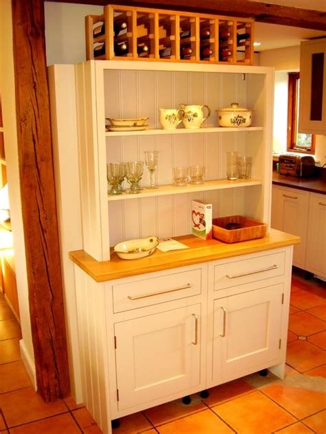 Modern Kitchen Dressers by Shaker Kitchen Dresser Kitchen Cabinetry Other Metro By The