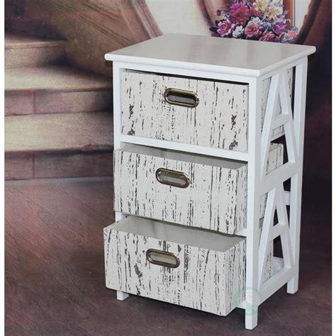 antique white 3 drawer dresser vintiquewise antique white 3 drawer chest qi003161 the