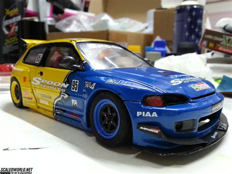 honda civic eg6 honda civic eg6 spoon race car by pandem scaledworld