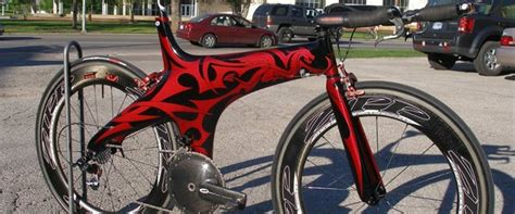 Fahrrad Lackieren Muster by Custom Cutting Edge Illusions