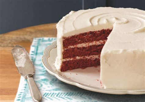 is velvet cake chocolate cake with food coloring let them and us eat cake for national cake day check