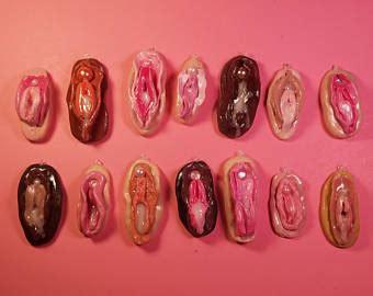 vaguna photos items similar to vagina necklace ceramic vagina choker