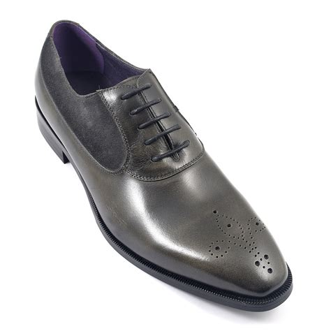 mens gray oxford shoes buy mens grey oxford shoes gucinari design
