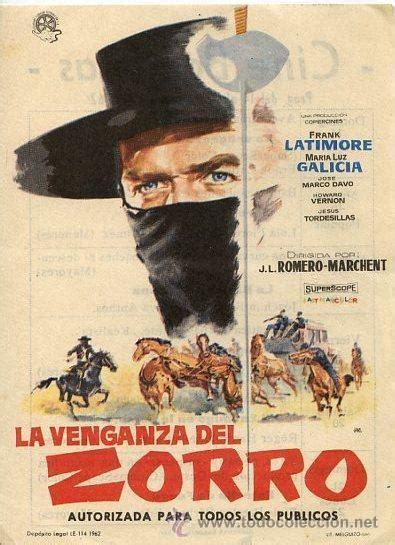 la venganza del profesor 8469833693 zorro the avenger 1962 filmaffinity