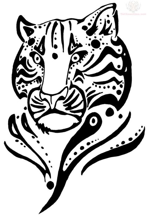 tribal jaguar tattoo designs free coloring pages of tribal animals