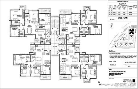general hospital floor plan nd passion elite haralur road bangalore apartment