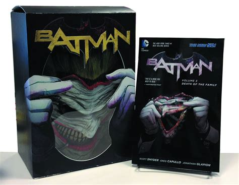 Batman Death Of The Family Book Amp Joker Mask Set N52