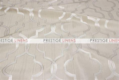jacquard table linens gatsby jacquard table linen beige prestige linens