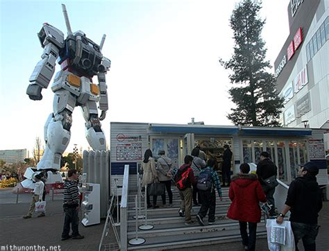 boat ride to japan the gallery for gt gundam statue odaiba