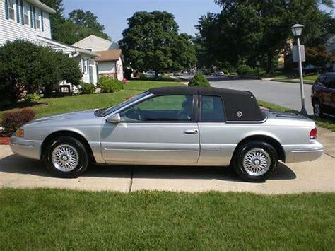 service manual 1996 mercury cougar how to fill new transmission purchase used 1996 mercury