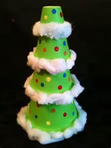 crafty soccer mom terra cotta pot christmas tree
