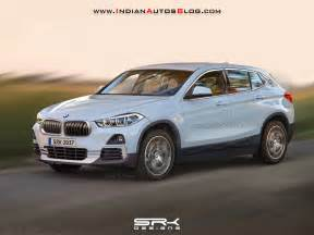Bmw X2 Production Bmw X2 Rendered Based On Patent Image