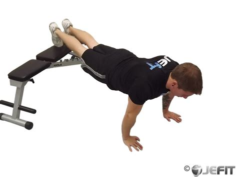 push up bench press bench push up