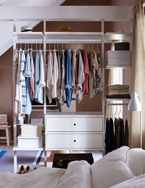 open closet design open air wardrobe for small spaces house design and decor