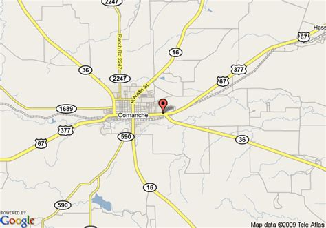 comanche texas map map of best western comanche inn comanche
