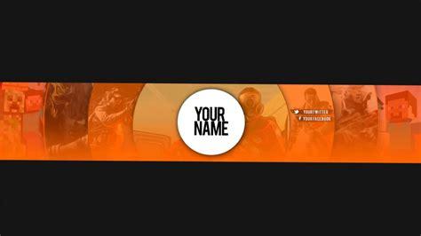 Skar Youtube Channel Banner Template 1 Youtube Yt Channel Template