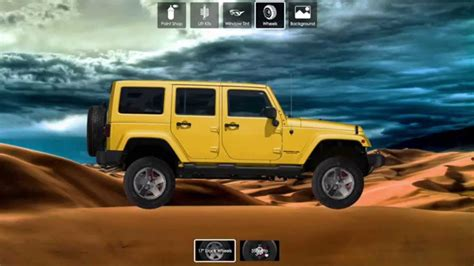 jeep customizer build and customize your jeep jeep app