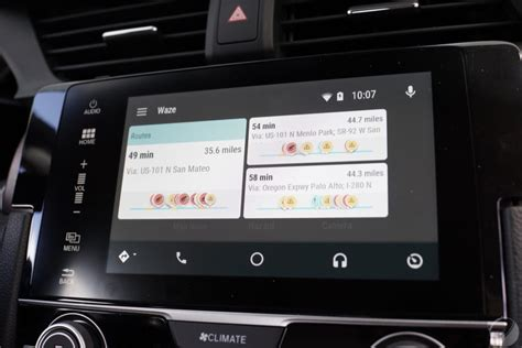 waze app for android waze android 28 images waze sur android auto les premi 232 res images l interface waze sur