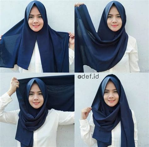 tutorial hijab pasmina simple dan cepat menggunakan jilbab pashmina cepat dalam 5 detik tutorial