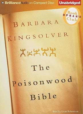 libro the poisonwood bible the poisonwood bible compact disc maria s bookshop