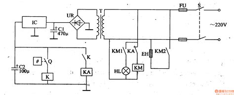 heater with thermostat schematic symbol get free image