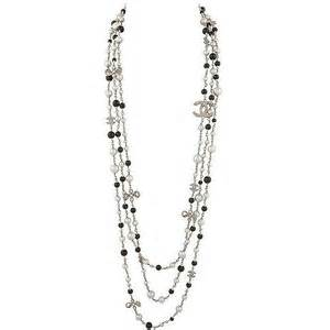 Brought back exclusively from paris this multi strand chanel necklace