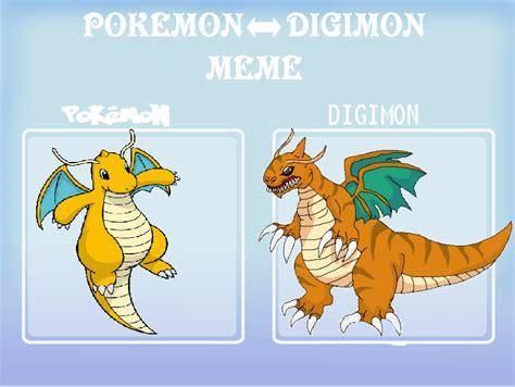Dragonite Meme - pokemon digimon meme dragonite by greekgodapollosfart