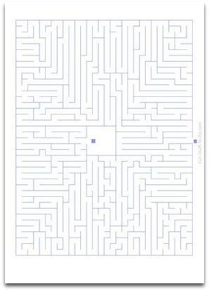 medium mazes maze puzzles  kids