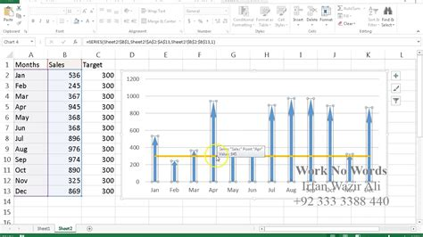 excel 2013 tutorial in urdu 93 sparklines excel 2013 urdu tutorials by irfan bakaly
