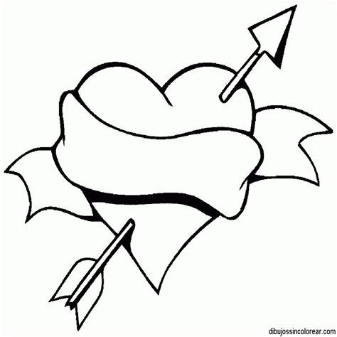 imagenes para dibujar sin color dibujos sin colorear dibujos de corazones para colorear